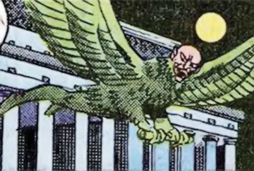 Legal Eagle (Hostess Comics) in Washington D.C.