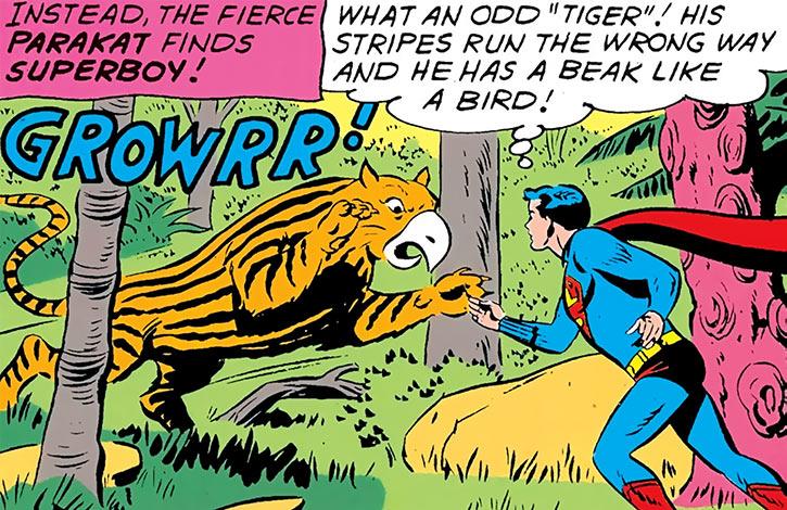 Parakat vs. Superboy (Legion of Super-Heroes) (DC Comics)