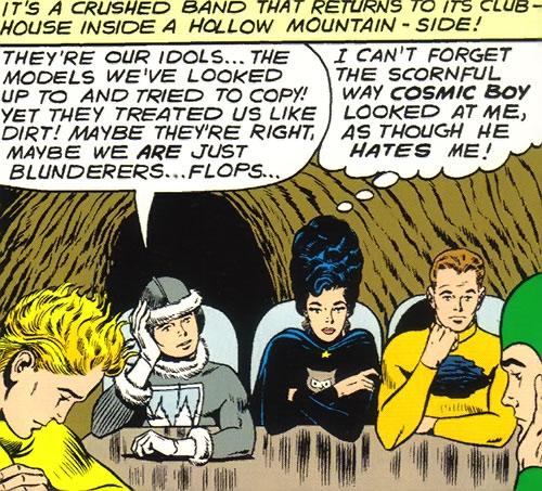 Legion of Substitute Heroes (Subs) (DC Comics) - depressed