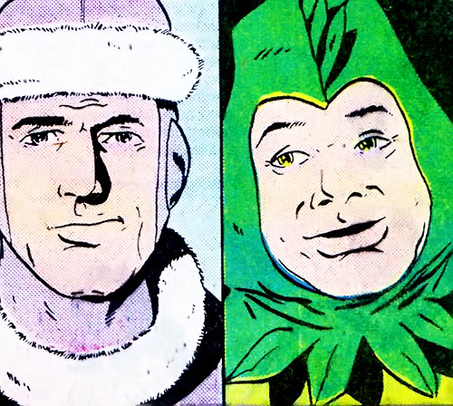 Legion of Substitute Heroes (Subs) (DC Comics) - Polar Boy and Chlorophyll Kid