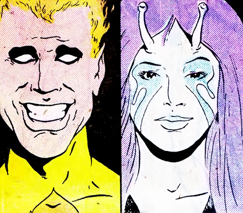 Legion of Substitute Heroes (Subs) (DC Comics) - Fire Lad and Infectious Lass