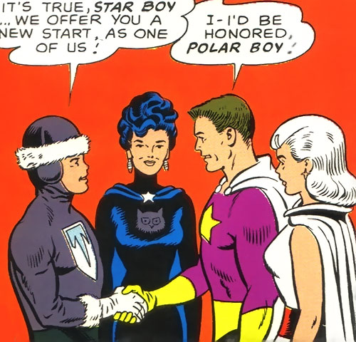 Legion of Substitute Heroes (Subs) (DC Comics) - Star Boy and Dream Girl
