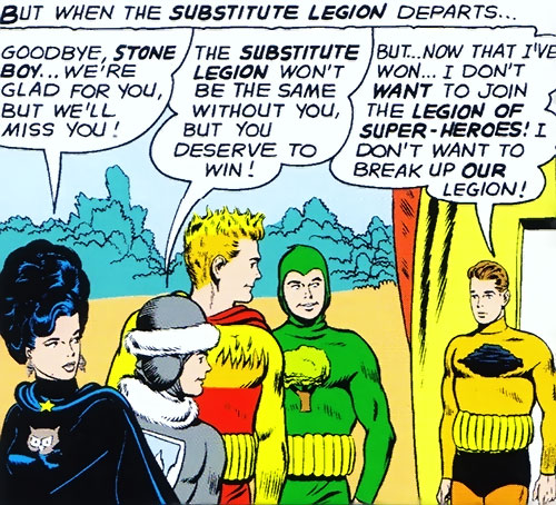 Legion of Substitute Heroes (Subs) (DC Comics) - with grounding belts