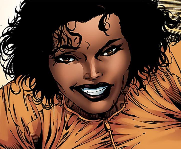 Leila Taylor (Marvel Comics) (Falcon character) modern haircut
