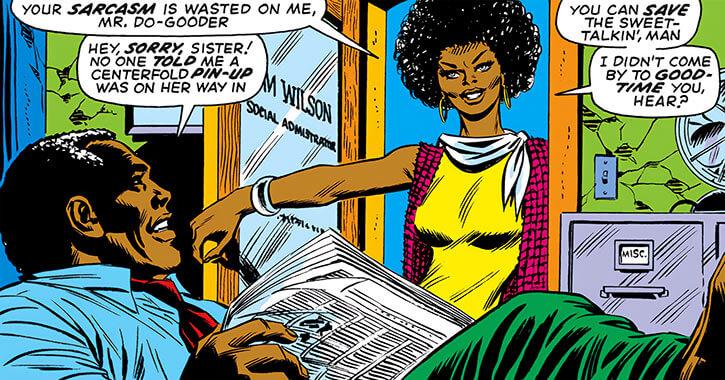 Leila Taylor (Marvel Comics) (Falcon character) earliest appearance