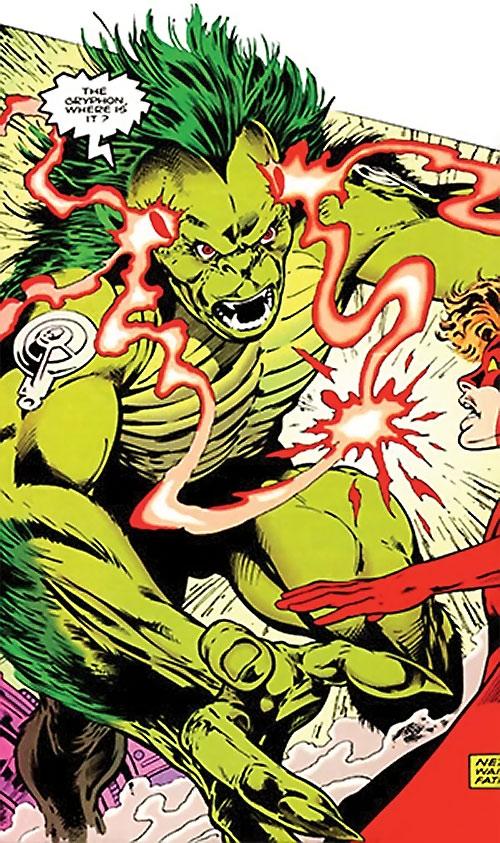 Lenz (Clan Destine enemy) (Marvel Comics) vs. the Crimson Crusader