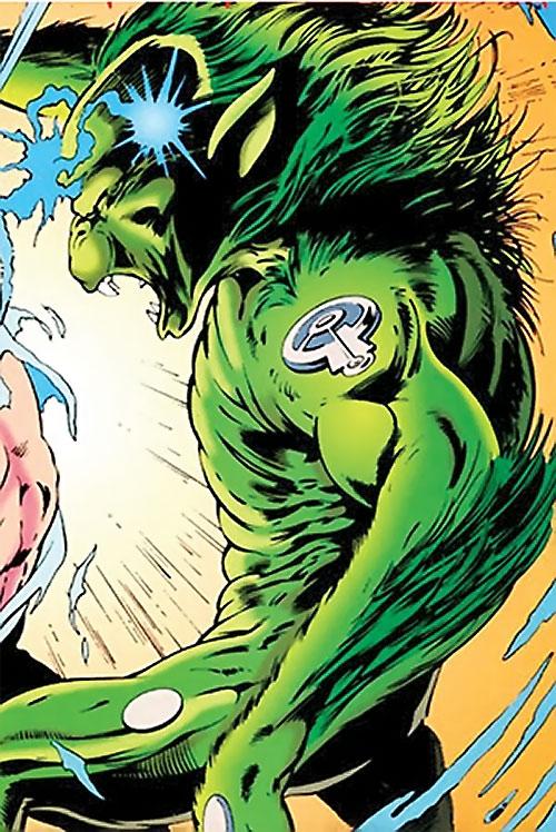 Lenz (Clan Destine enemy) (Marvel Comics)