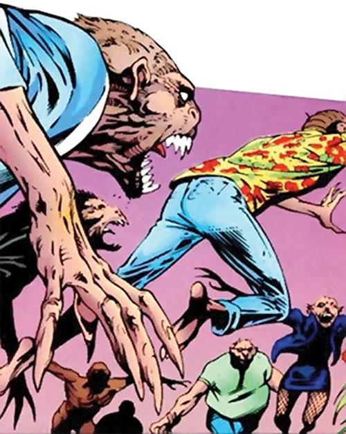 Lenz's mutates (Clan Destine enemies) (Marvel Comics)