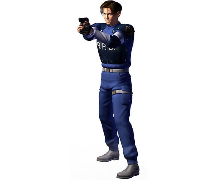 Leon Kennedy (Resident Evil) RPD uniform