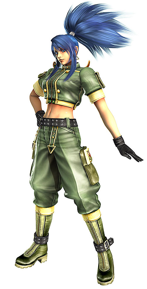 Leona Heidern (King of Fighters) cargo pants