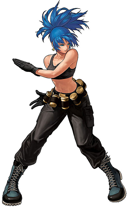 Leona Heidern (King of Fighters)
