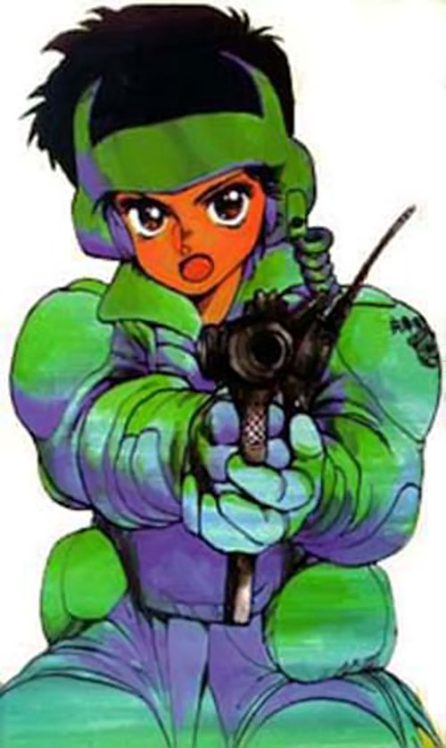 Leona Osaki from the Dominion Tank Police