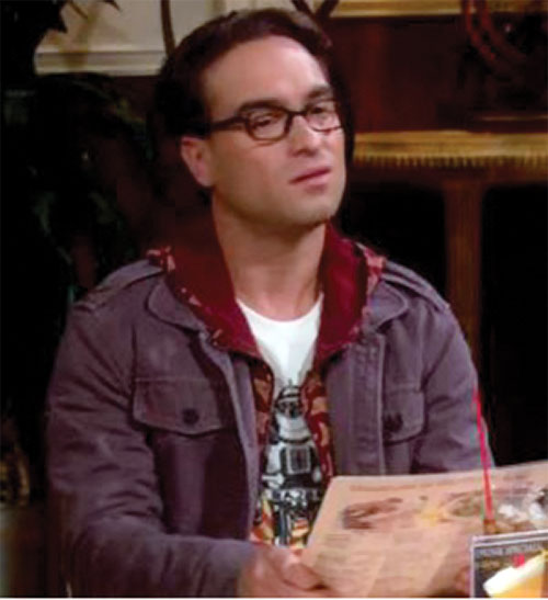 Leonard Hofstadter (Johnny Galecki in Big Bang Theory) is dubious