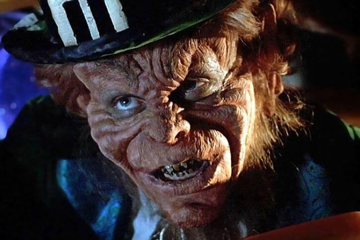 Leprechaun - Bad horror movies - Warwick Davis - Face closeup teeth