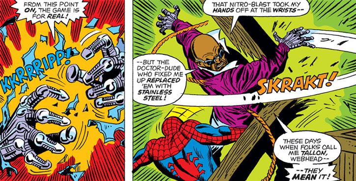 Leroy Tallon vs. Spider-Man
