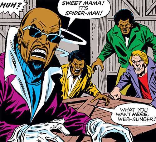 Leroy Talon (Spider-Man enemy) (Marvel Comics) and his gang