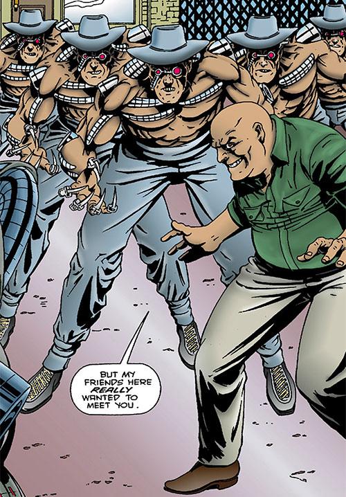 Lesser Machines in Barb Wire (Dark Horse Comics)