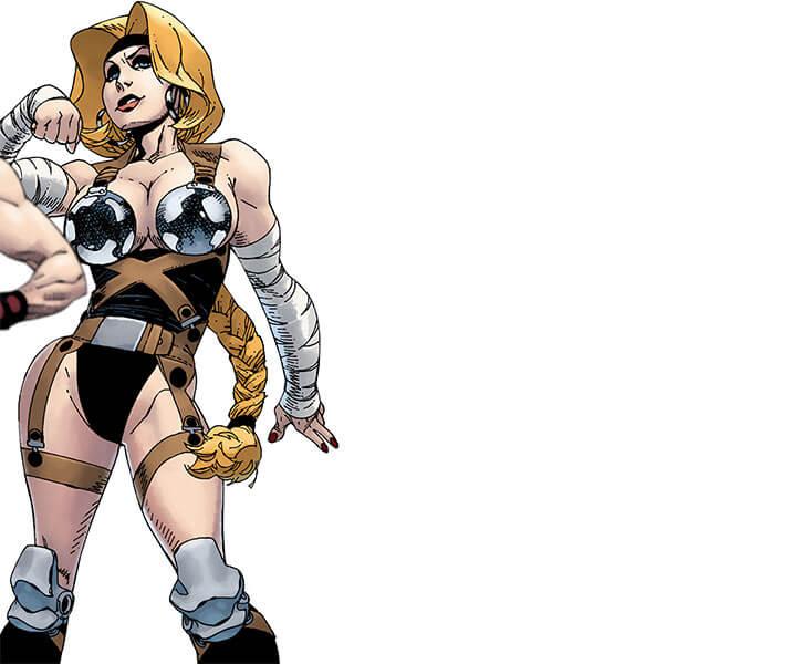 Letha (Marvel Comics) (Grapplers) 2009 art