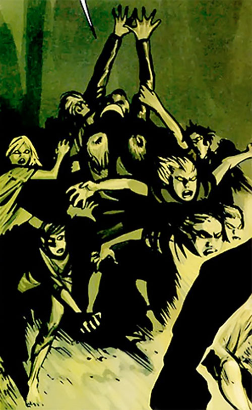 Leviathan children (7 Soldiers) (DC Comics)