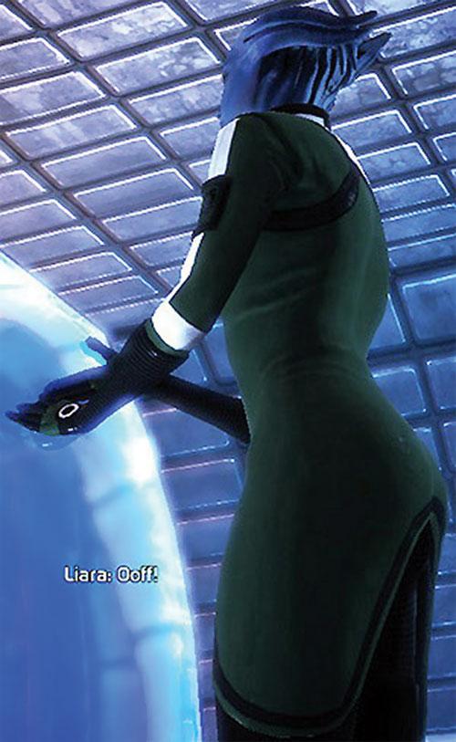 Liara T'Soni (Mass Effect) Asari booty