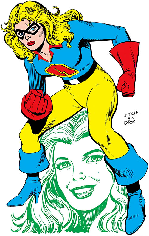 Liberty Belle (DC Comics) from the Who's Who