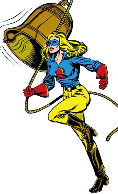 Liberty Belle (DC Comics) ringing a bell