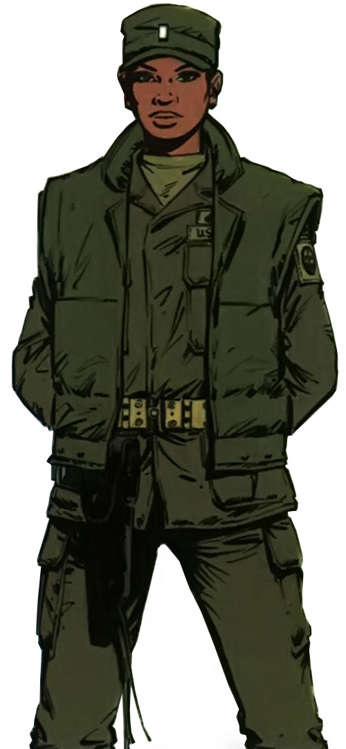 Lieutenant Jones (XIII comics) in uniform