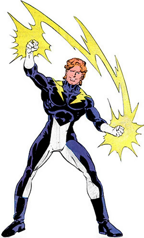 Lightning Lad of the Legion of Super-Heroes (pre-reboot DC Comics)