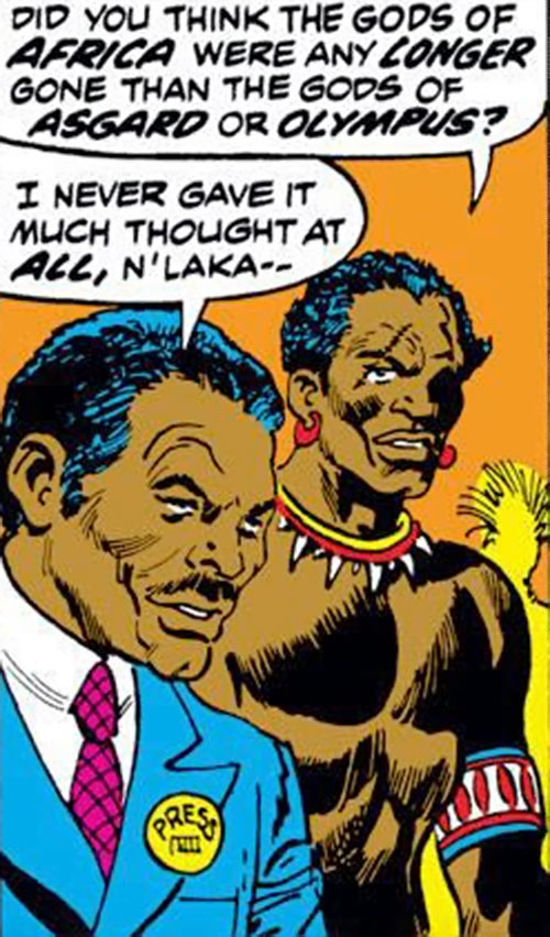 Mister Umbala (Avengers character) (Marvel Comics)