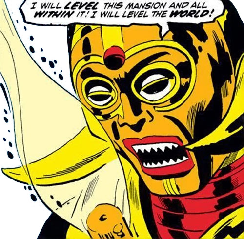 Lion God (Avengers enemy) (Marvel Comics) face closeup
