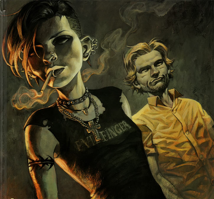 Lisbeth Salander and M. Blomkvist