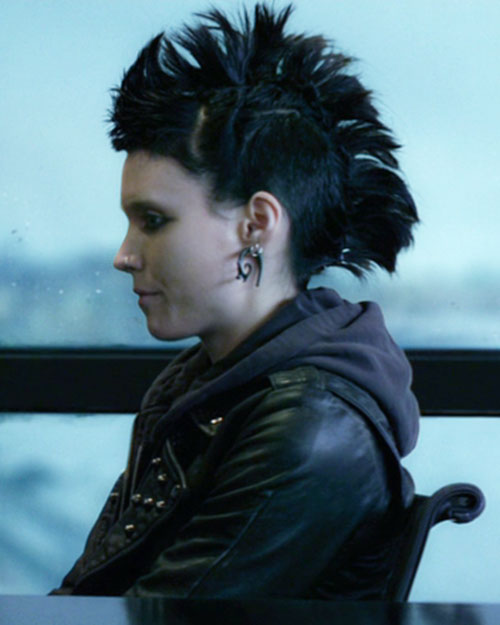 Lisbeth Salander (Movie version) (Rooney Mara take) mohawk