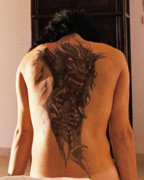 Lisbeth Salander (Movie version) (Noomi Rapace take) dragon tattoo