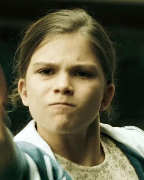 Lisbeth Salander (Movie version) as a kid