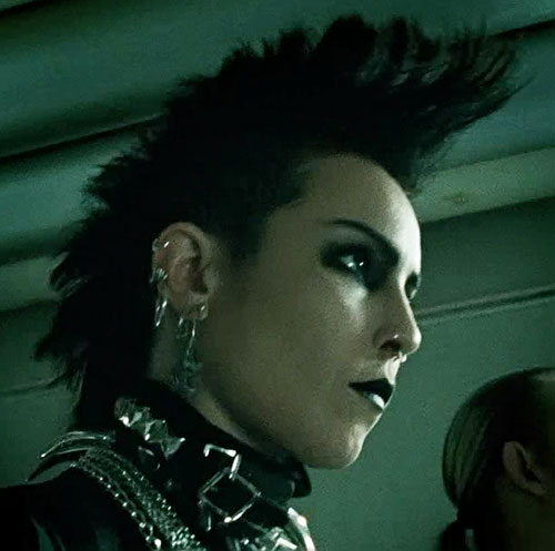 Lisbeth Salander (Movie version) (Noomi Rapace take) mohawk