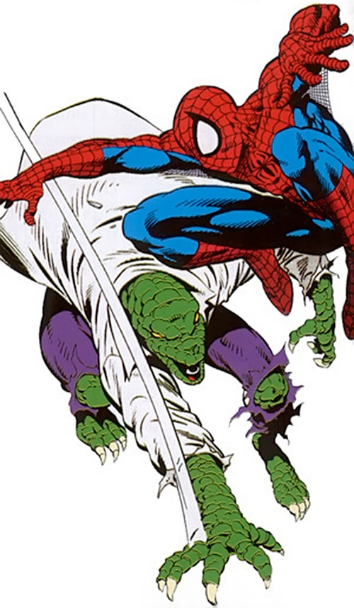 Lizard (Marvel Comics) vs. Spider-Man