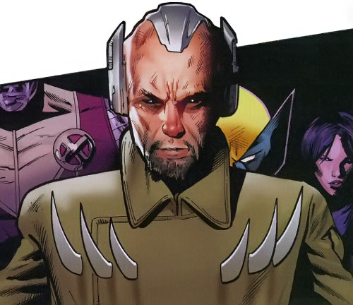 Lobe (X-Men enemy) (Marvel Comics) ignoring Wolverine's claws