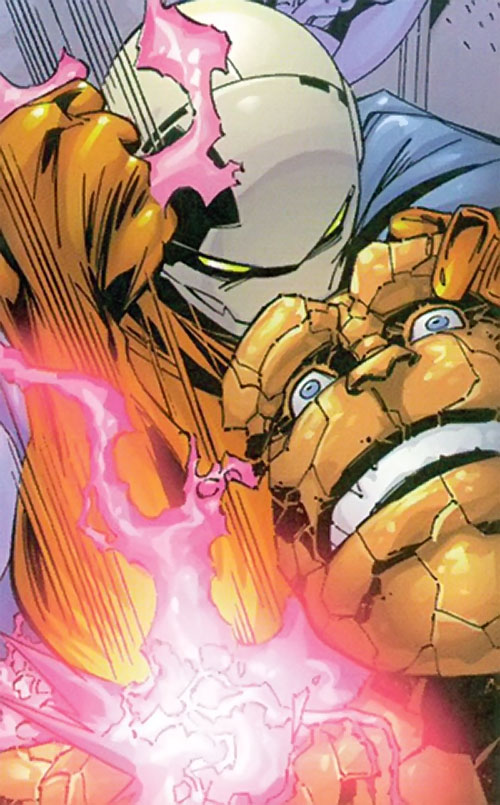 Lockdown (Fantastic Four character) (Marvel Comics) vs. the Thing