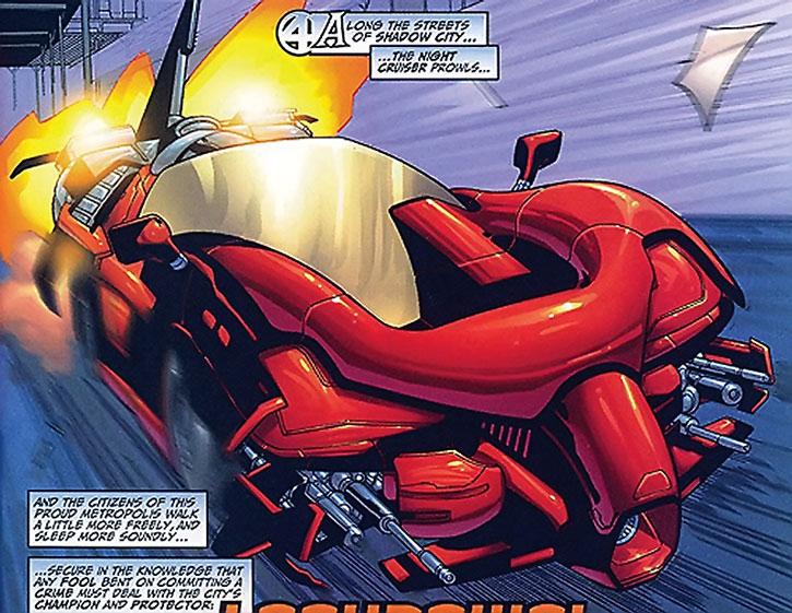 Lockdown's Night Cruiser super-car