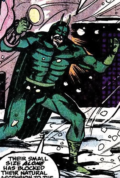 Locust (Marvel Comics) in the snow