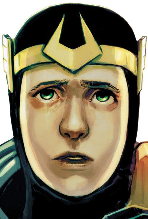 Kid Loki (Marvel Comics Journey into Mystery) pleading face closeup