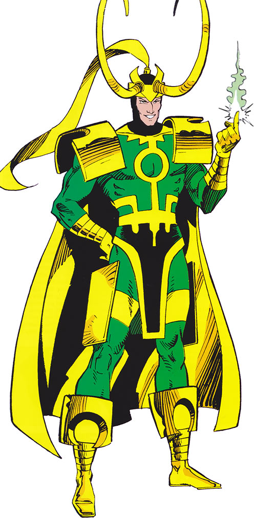 Loki (Thor character) (Marvel Comics) from the handbook