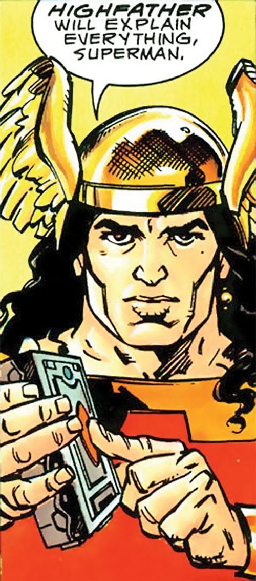 Lonar of Kirby's New Gods (DC Comics 4th world)