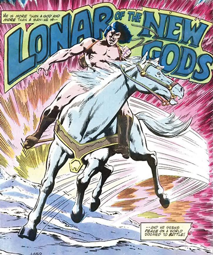 Lonar - DC Comics - New Gods - Jack Kirby 4th World