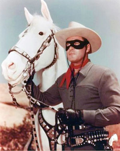 The Lone Ranger (Clayton Moore) and Silver