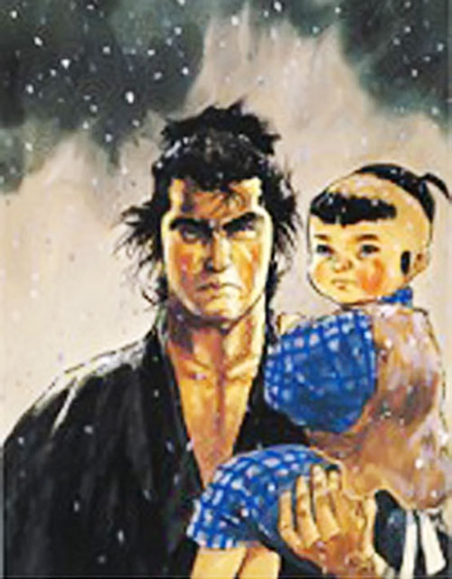Lone Wolf and Cub portrait