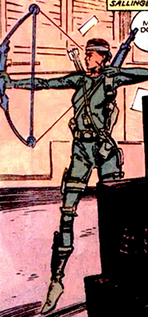 Longbow of the Harriers (X-Men ally) (Marvel Comics)