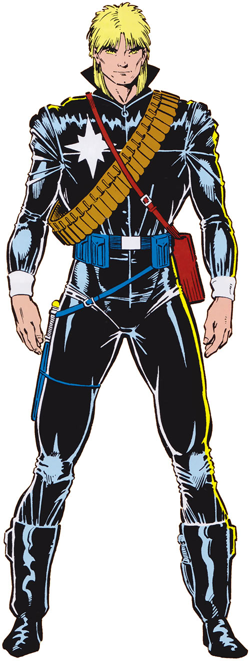 Longshot (Marvel Comics) by Art Adams