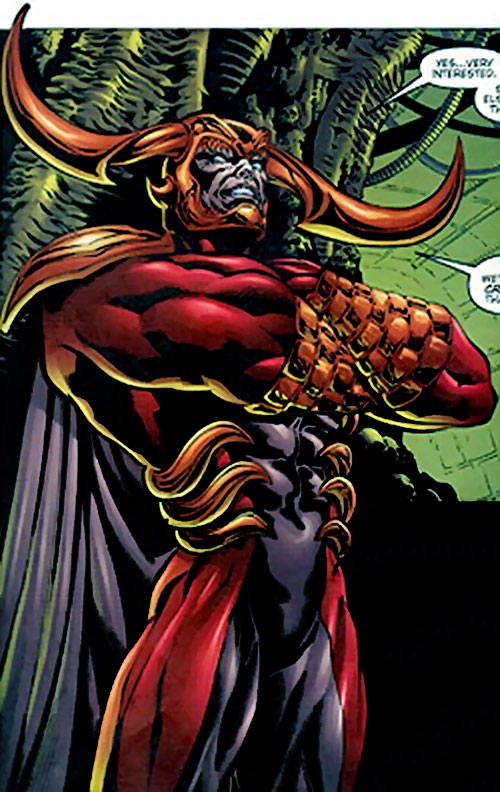 Lord Defile of the Cabal (Stormwatch enemy) (Image Comics)