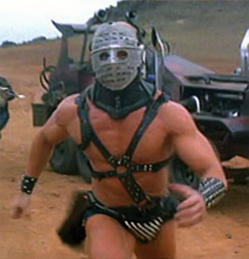 Lord Humungus (Kjell Nilsson in Mad Max) body shot